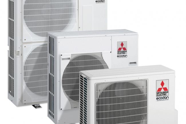 Mitsubishi Air Source Heat Pumps
